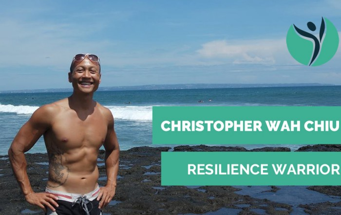 Christopher Wah Chiu Resilience Warrior