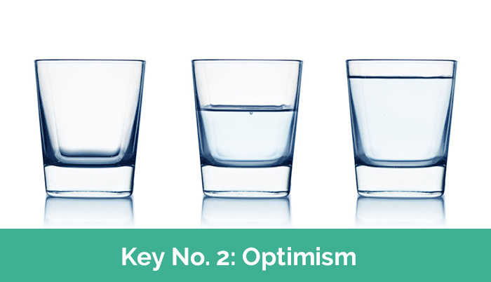 Optimism resilience key